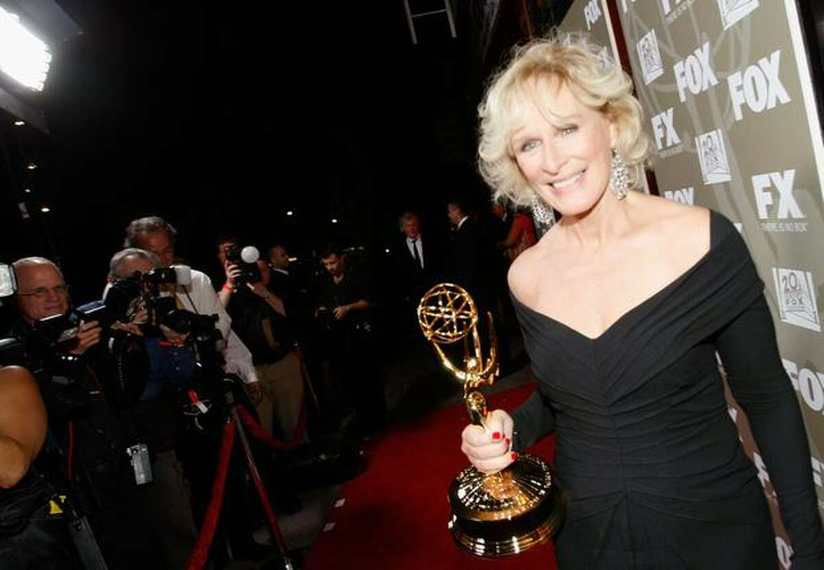 Actress Glenn Close from FOX's