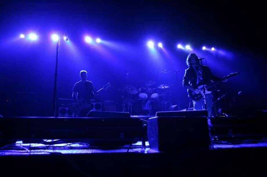 Pearl Jam performs at KeyArena. Photo: Joshua Trujillo, Seattlepi.com