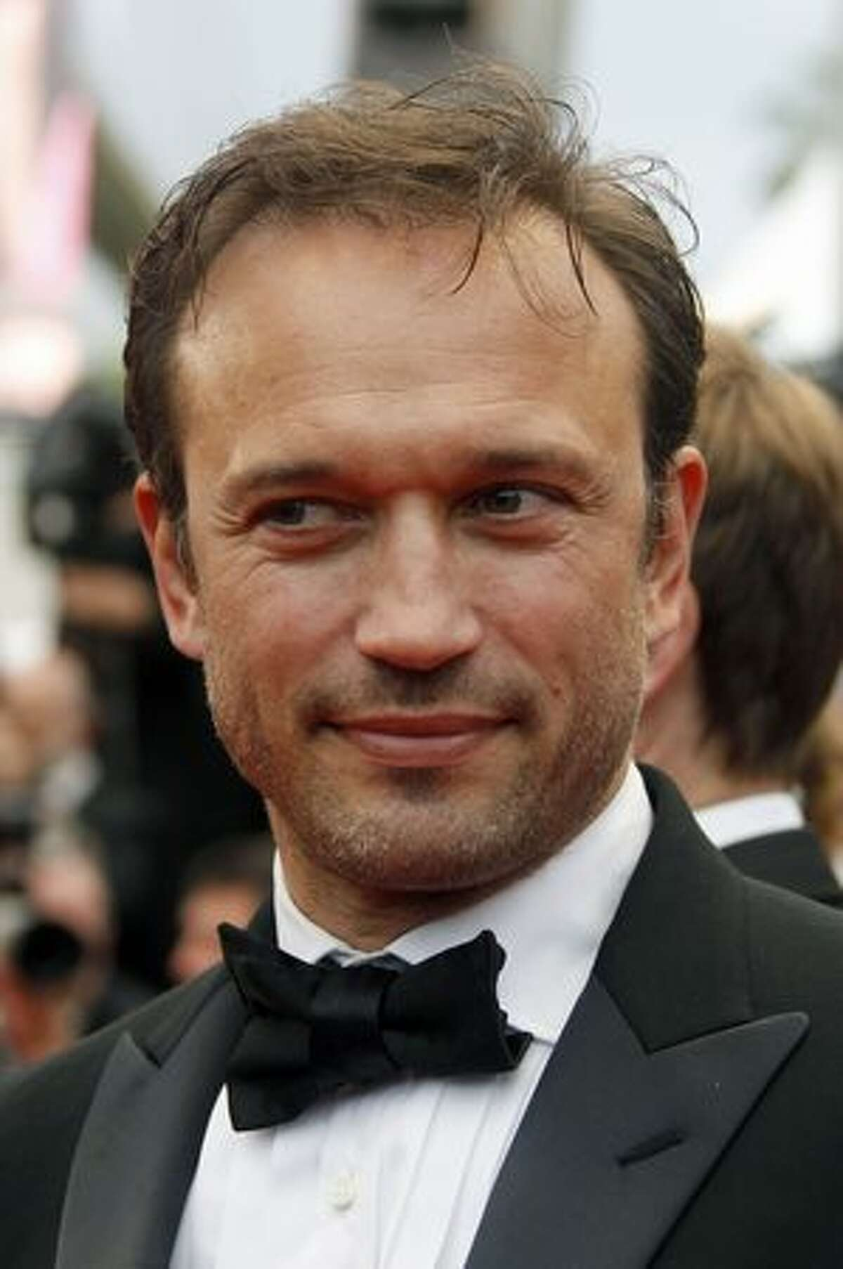 French actor Vincent Perez arrives for the screening of