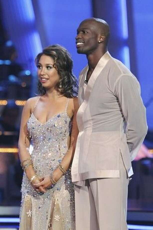 Chad and Cheryl get a 27. Photo: ABC