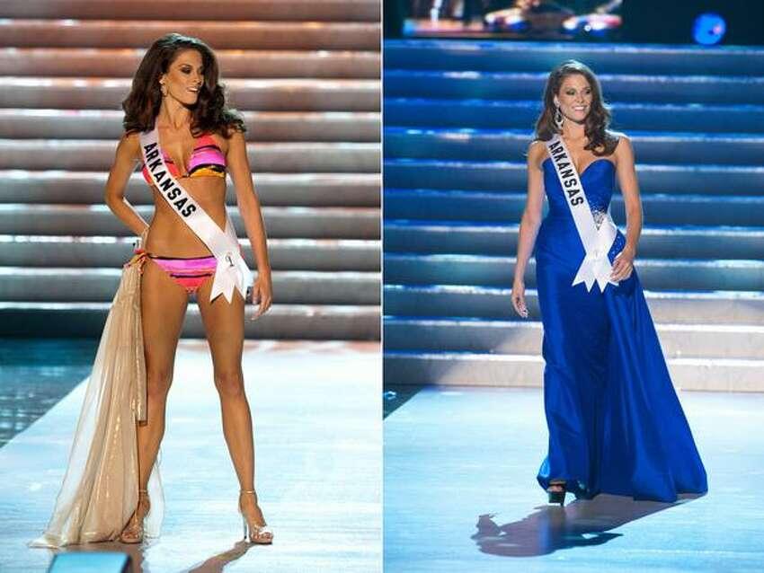 Adrielle Churchill, Miss Arkansas USA, of Dover.