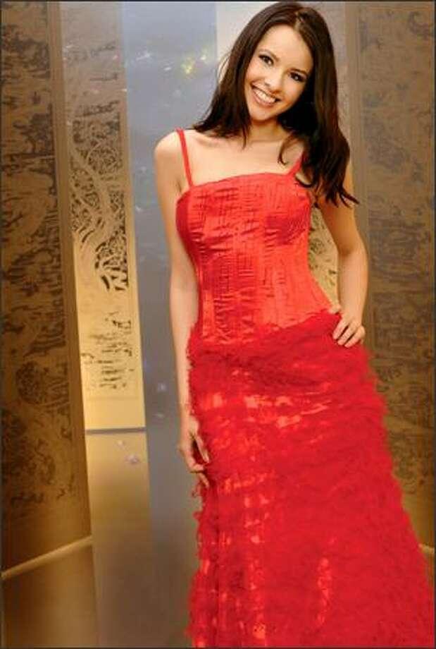 Natalia Nikolaeva, Miss Russia. Photo: Miss Universe L.P., LLLP