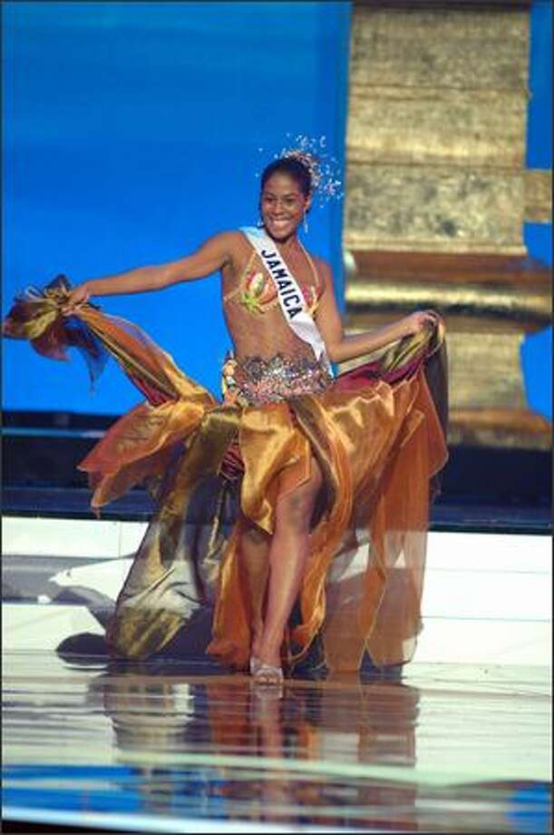Raquel Wright, Miss Jamaica. Photo: Miss Universe L.P., LLLP