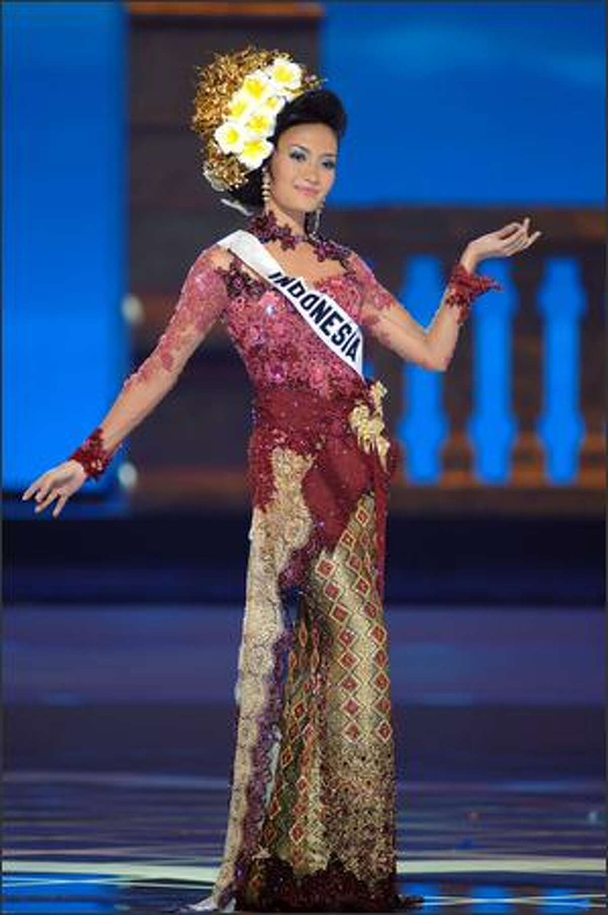 Artika Sari Devi, Miss Indonesia.