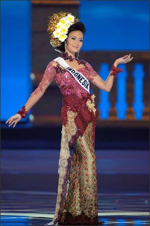 Artika Sari Devi, Miss Indonesia. Photo: Miss Universe L.P., LLLP