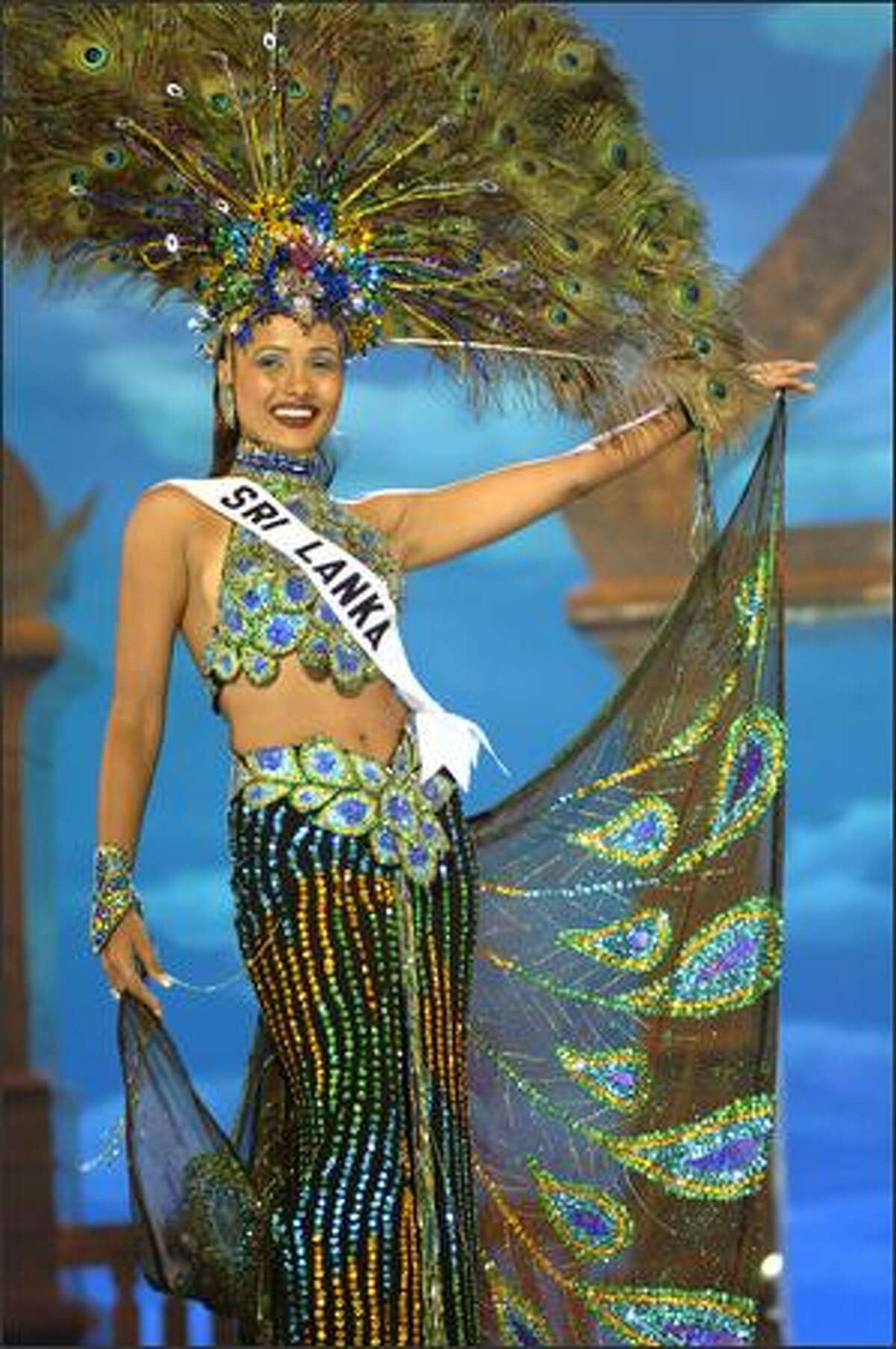 Rozanne Diasz, Miss Sri Lanka.