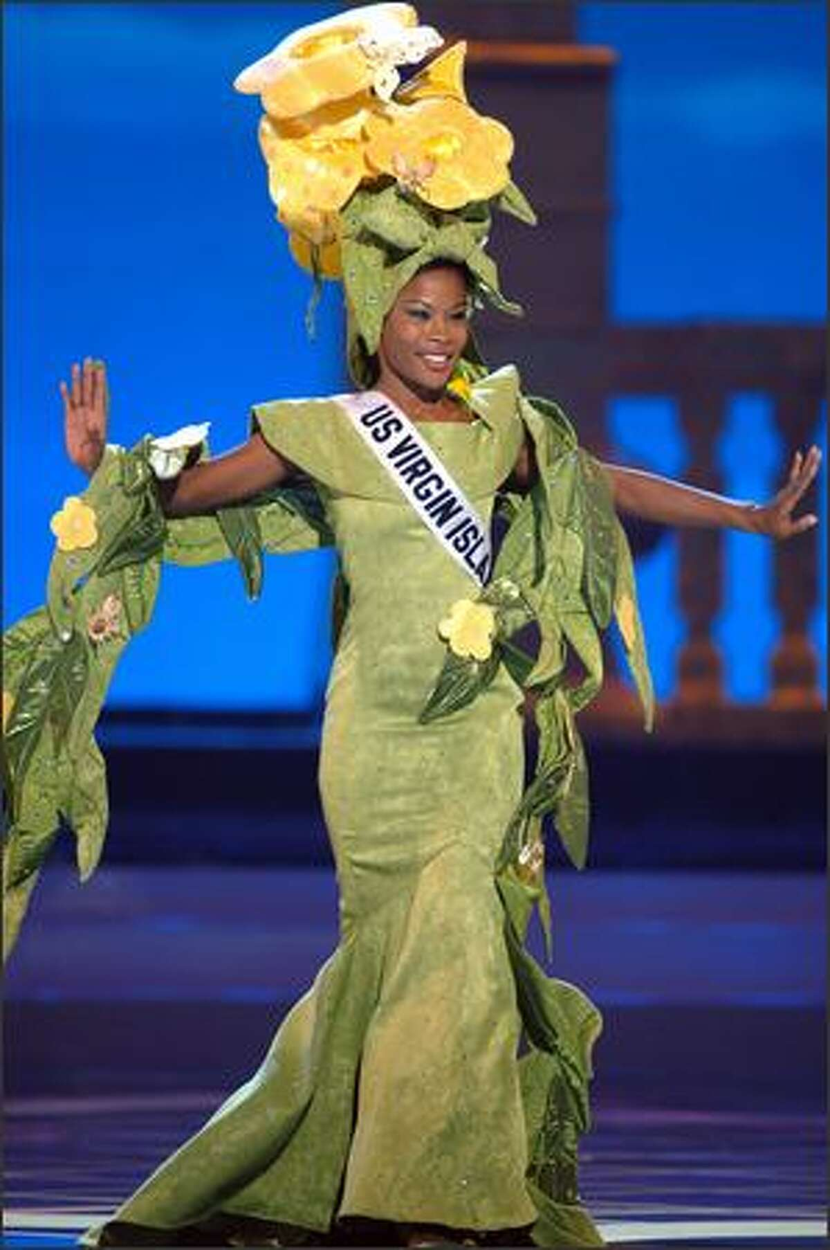 Tricia Homer, Miss U.S. Virgin Islands.