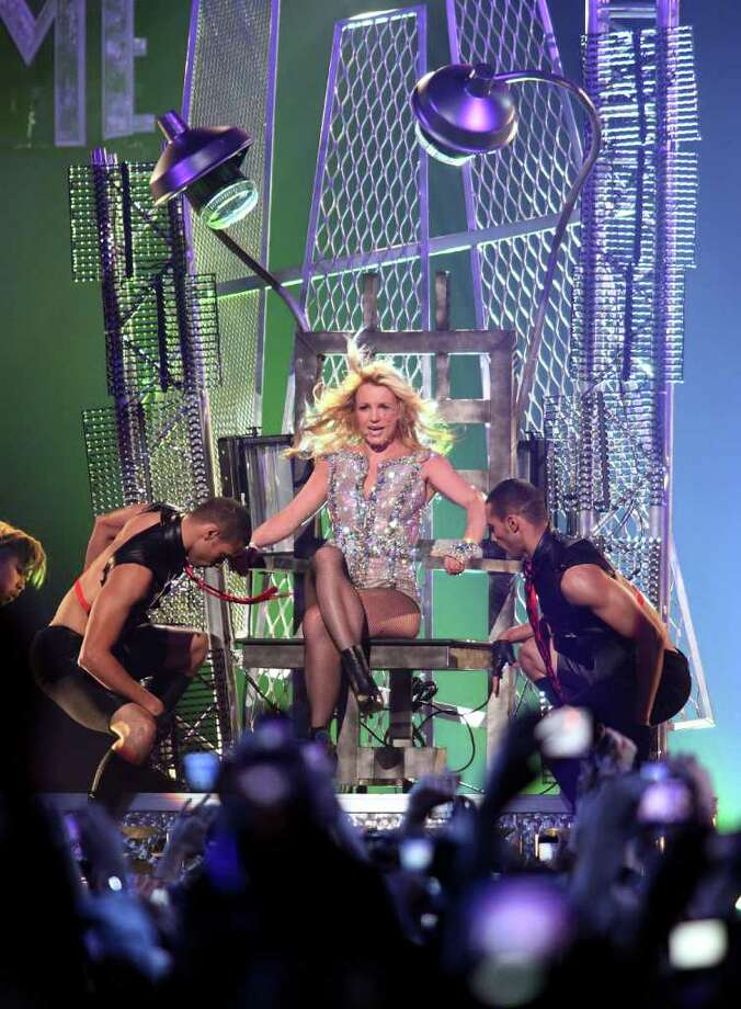 """SAN FRANCISCO, CA - MARCH 27:  Britney Spears attends """"Good Morning America's"""" Taping Performance At Bill Graham Civic Auditorium on March 27, 2011 in San Francisco, California.  (Photo by Max Morse/Getty Images) Photo: Max Morse, Getty Images / 2011 Getty Images"""