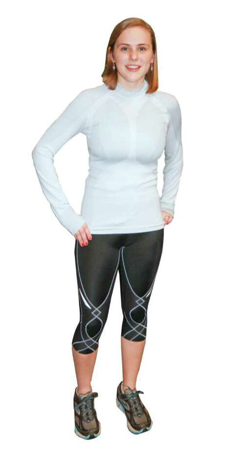 Everyone from runners and cyclists, to people pumping iron and others using exercise equipment are more likely to be sporting sleek, tight workout wear known as compression clothing. Photo: Colleen Ingerto / Healthy Life