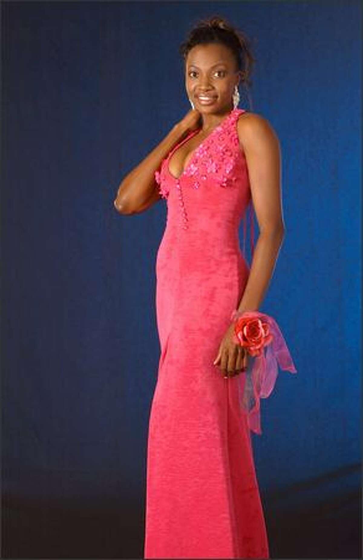 Ann-Marie Browne, Miss Antigua & Barbuda.