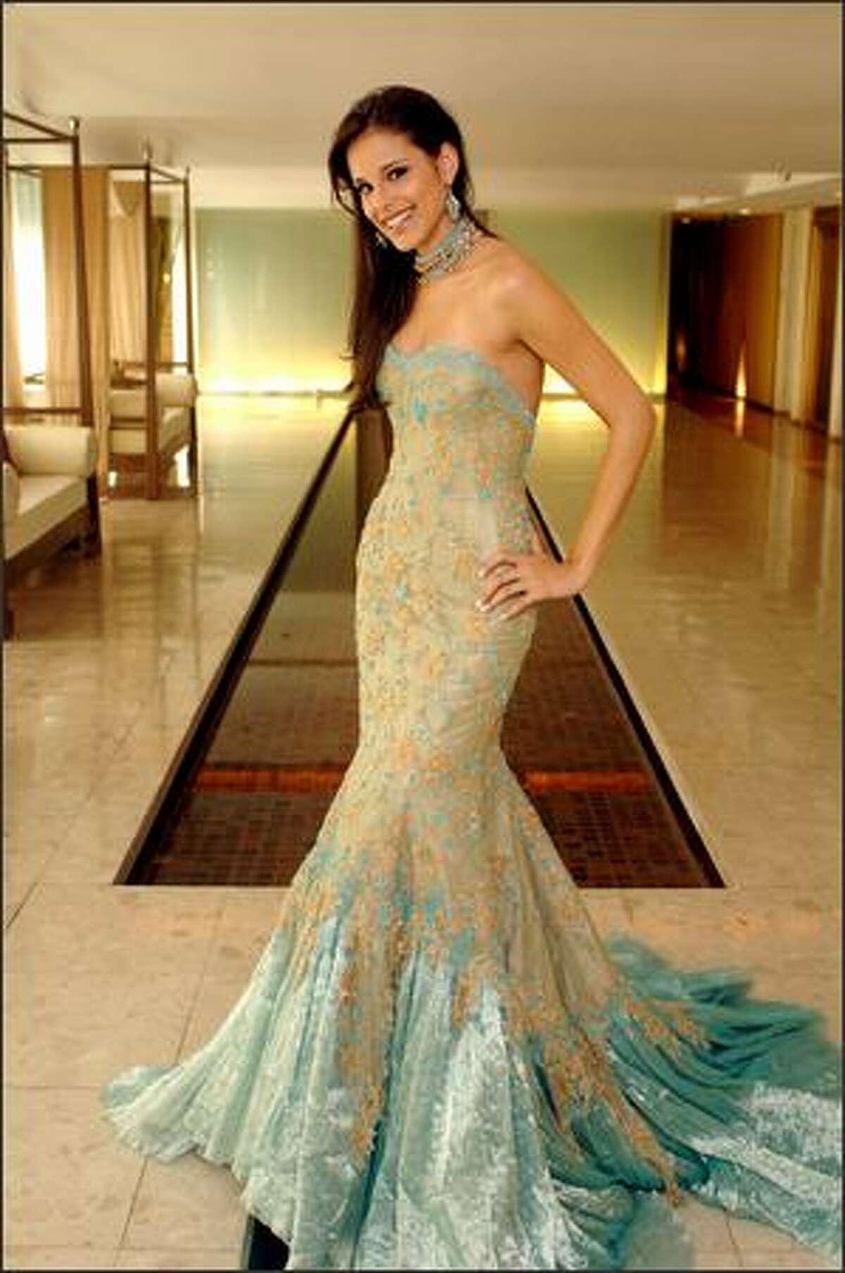 Renata Soñé, Miss Dominican Republic.