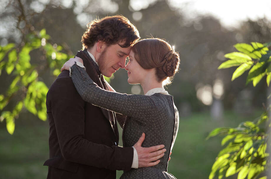 Michael Fassbender and Mia Wasikowska in JANE EYRE, directed by Cary Fukunaga Photo: Laurie Sparham / 2011 Universal Studios