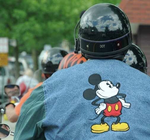 Mickey gets a free ride June 10 at Americade in Lake George.  (Skip Dickstein/Times Union) Photo: Skip Dickstein