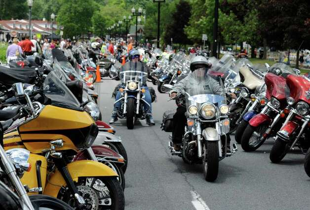 Americade under way June 10 in Lake George. (Skip Dickstein/Times Union) Photo: Skip Dickstein