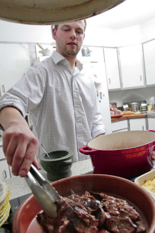 Family roots and recipes inspire chef Franco Rua, head chef at Cafe Capriccio in Albany. (Suzanne Kawola/Life@Home). Click here to read the story.
