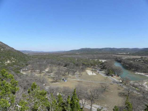 The Frio River runs through Garner State Park in the Texas Hill Country. The state park offers about 17 miles of hiking opportunity. Photo credit: Tara Dooley / DirectToArchive