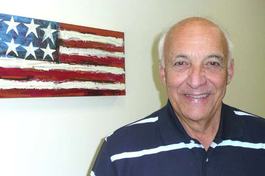 Frank Mazza speaks to Seniority. Photo: Contributed Photo / Greenwich Citizen