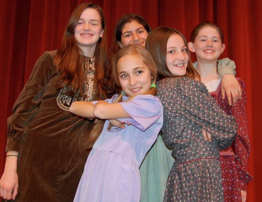 "Students at Coleytown Middle School in Westport rehearsing for the production of ""Fiddler on the Roof"" that will be presented at the school April 7-9. Photo: Contributed Photo / Westport News contributed"