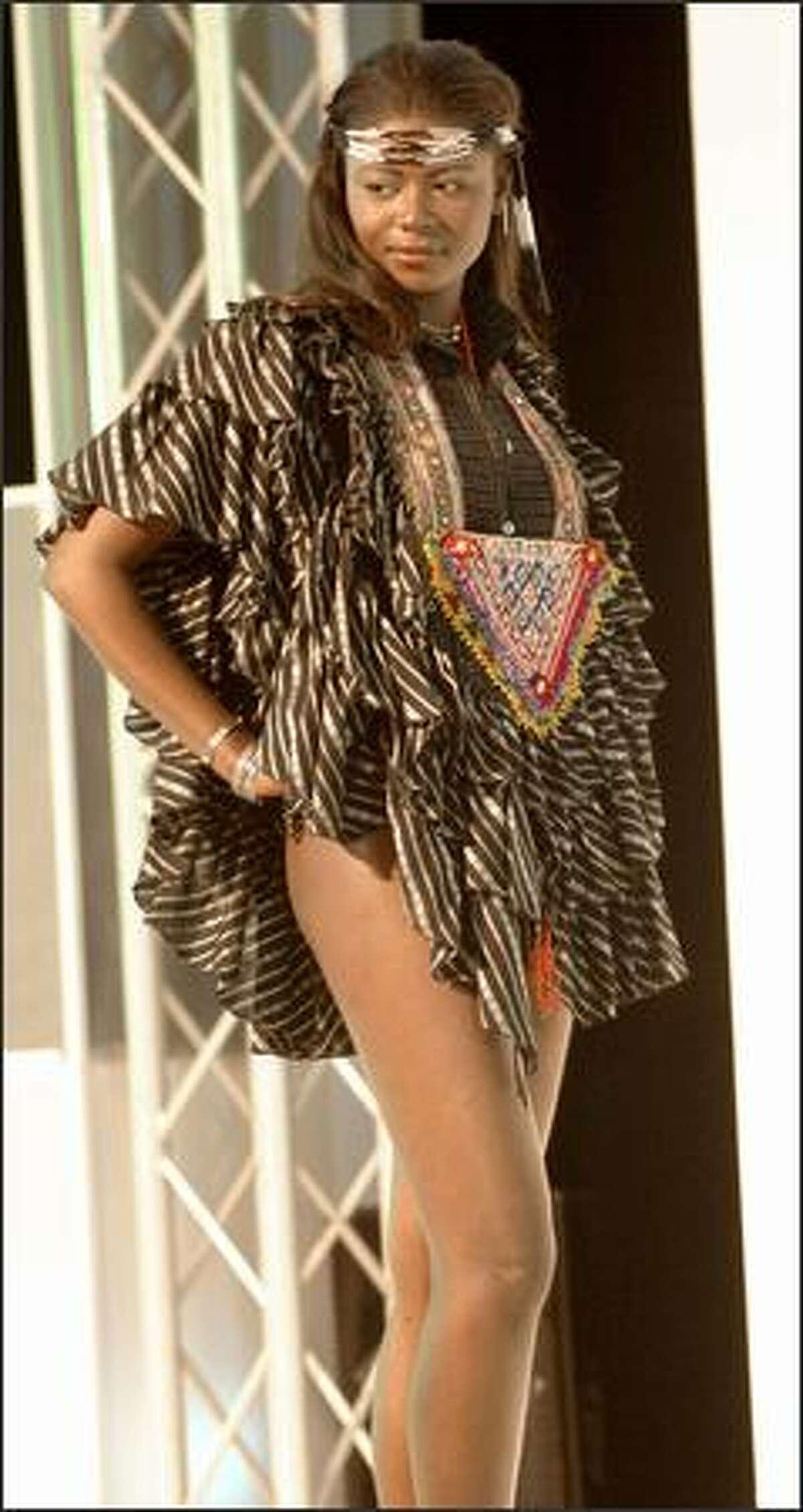 Zenilde Josias, Miss Angola.