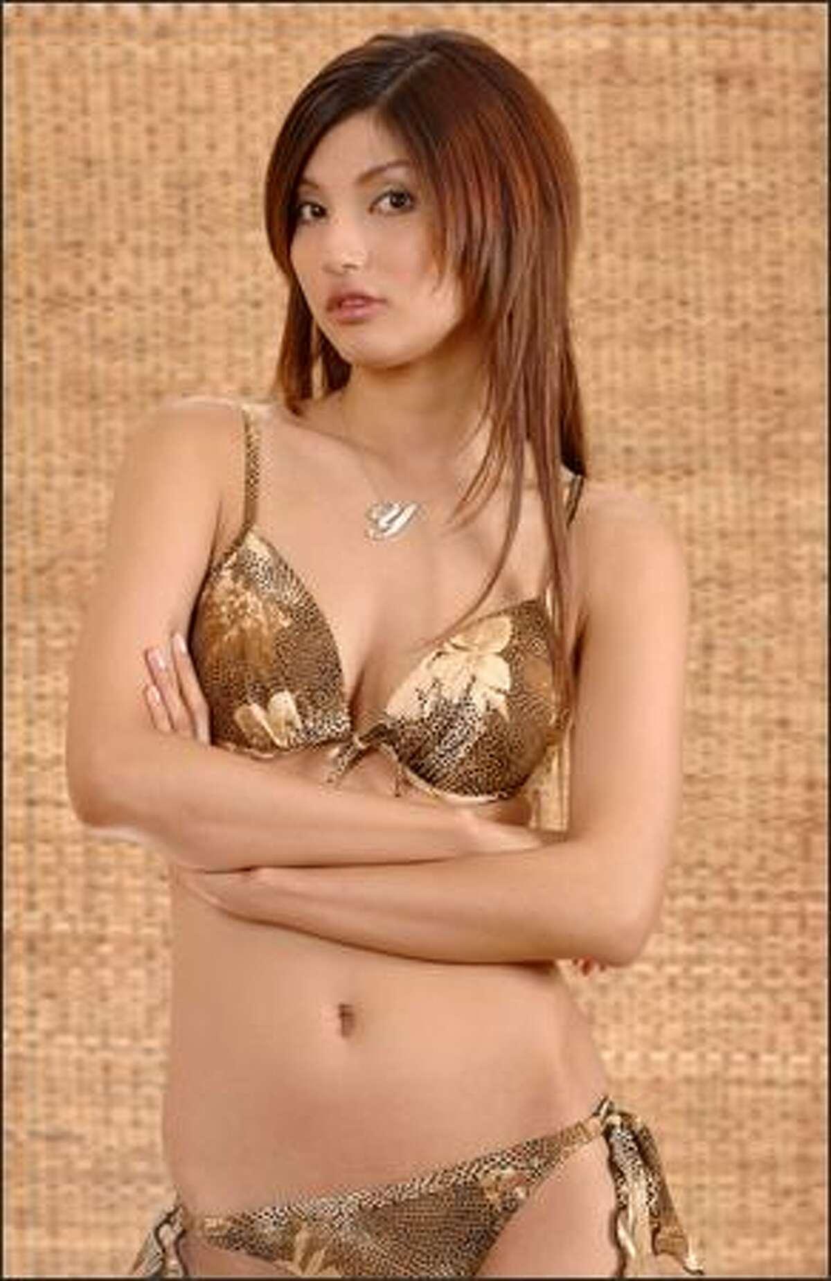 Yukari Kuzuya, Miss Japan.