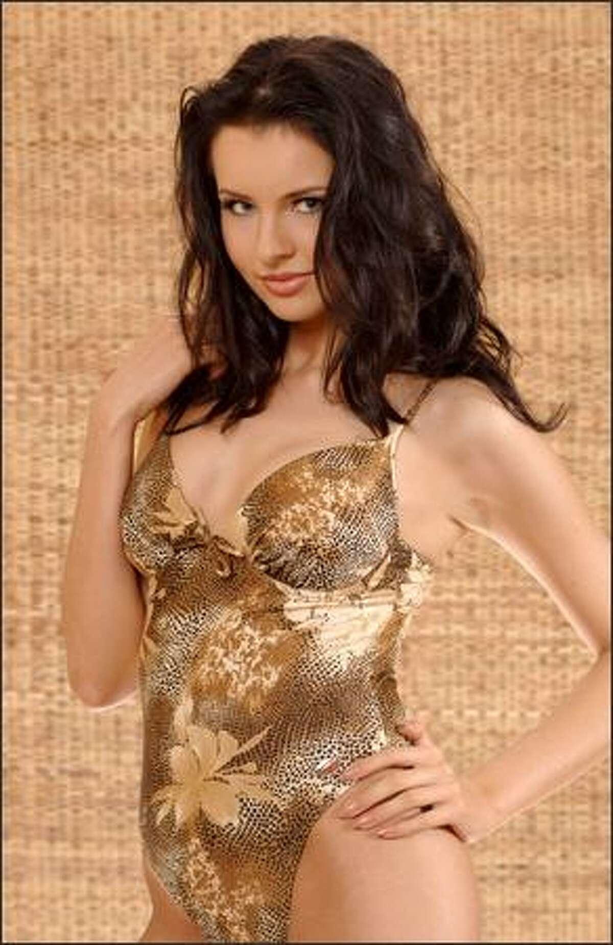 Natalia Nikolaeva, Miss Russia.
