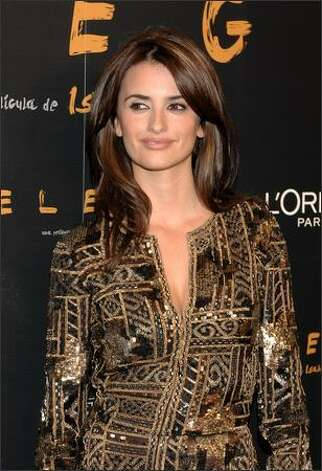 "Actress Penelope Cruz attends the premiere of ""Elegy"" on April 16, 2008 at Capitol cinema in Madrid, Spain. Photo: Getty Images / Getty Images"