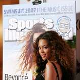 LOS ANGELES, CA - FEBRUARY 14:  Singer Beyonce Knowles arrives at a reception celebrating the 2007 Sports Illustrated Swimsuit Issue in which she appears on the cover at the Pacific Design Center on February 14, 2007 in Los Angeles, California.  (Photo by Charley Gallay/Getty Images) *** Local Caption *** Beyonce Knowles