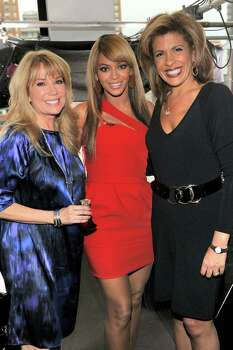 "NEW YORK - FEBRUARY 02: (L to R) *Exclusive* Kathie Lee Gifford, Beyonce, and Hoda Kotb attend Beyonce's First Fragrance Launch Event for ""Beyonce Heat"" - Catch the Fever at 15 Union Square West on February 2, 2010 in New York City.  (Photo by Dimitrios Kambouris/Getty Images for Coty) *** Local Caption *** Kathie Lee Gifford;Beyonce;Hoda Kotb Photo: Dimitrios Kambouris, Getty Images For Coty / 2010 Getty Images"