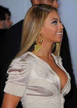 LOS ANGELES, CA - JANUARY 31:  Singer Beyonce Knowles (hair and jewelry detail) arrives at the 52nd Annual GRAMMY Awards held at Staples Center on January 31, 2010 in Los Angeles, California.  (Photo by Jason Merritt/Getty Images) *** Local Caption *** Beyonce Knowles Photo: Jason Merritt, Getty Images / 2010 Getty Images