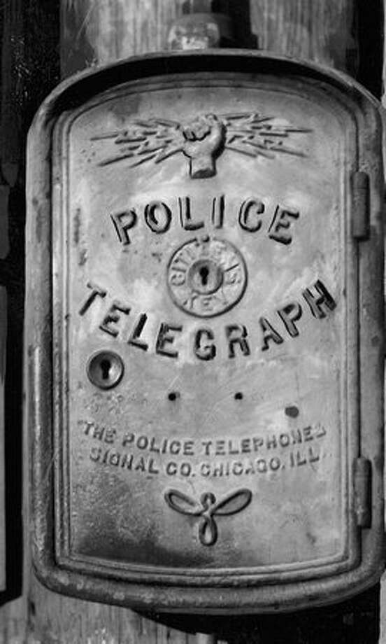 Police Telegraph. November 17, 1934. Photo: P-I File