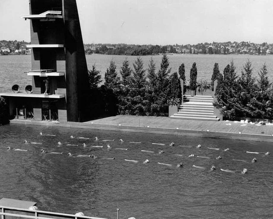The Green Lake Aqua Theatre, 1963. Photo: P-I File