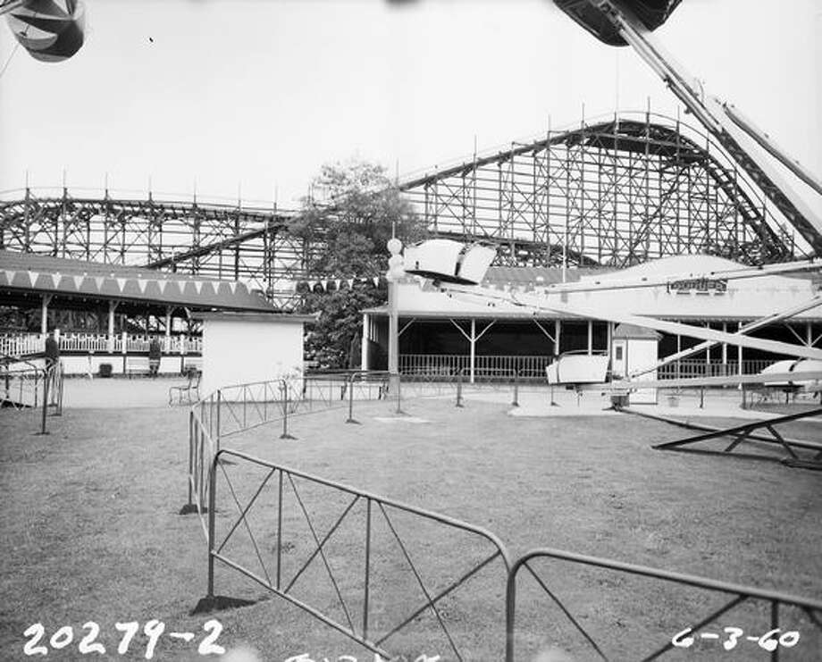 Playland on June 3, 1960, after its closure. (Seattle Municipal Archives) Photo: P-I File
