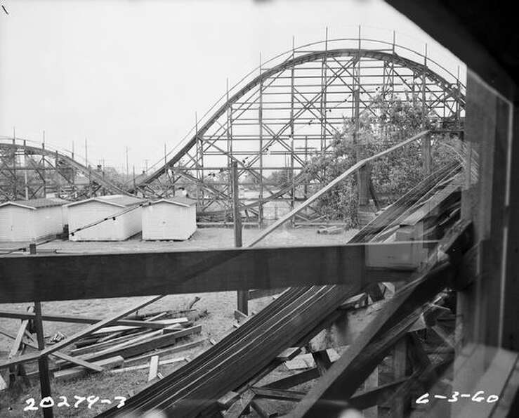 Playland on June 3, 1960, after its closure. (S