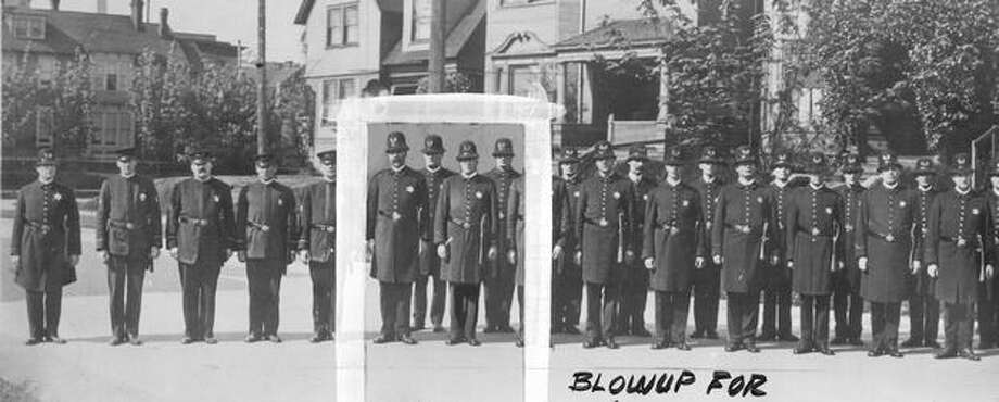 Some members of Seattle's police force in 1912. Photo: P-I File