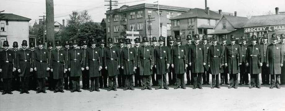April 1912. Photo: P-I File