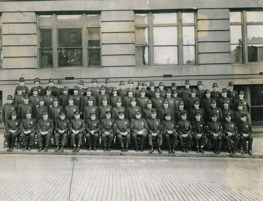 Third Patrol Seattle Police Department. November 11, 1919. Photo: P-I File