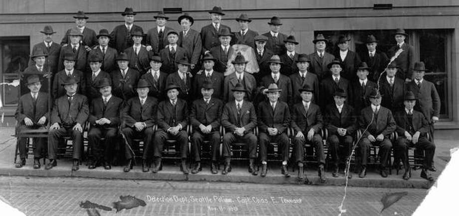 Picture No. 4, Detective Department. March 26, 1923. Photo: P-I File
