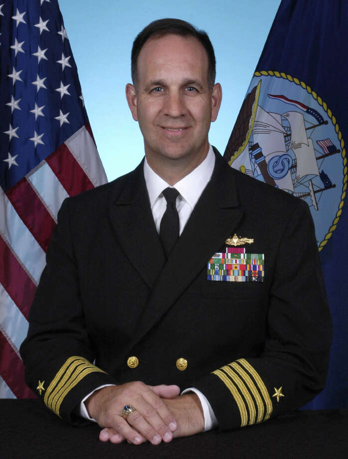 President Barack Obama has nominated Greenwich native and Navy Reserve Capt. John F. Weigold for an appointment to the rank of rear admiral, lower half, according to the U.S. Department of Defense. Weigold is currently serving as a reserve special assistant to the commander for U.S. European Command in Stuttgart, Germany. An executive recruiter, he is a member of the Secretary of the Navy National Navy Reserve Policy Board. Photo: Contributed Photo / Greenwich Time Contributed