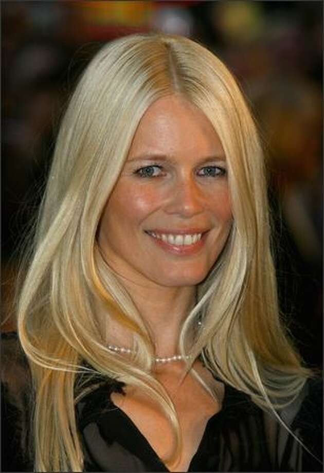 Claudia Schiffer attends the Stardust film premiere held at the Odeon Leicester Square on October 3, 2007 in London. Photo: Getty Images