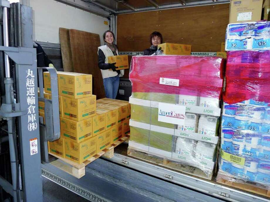 AmeriCares photo by Tom Turley AmeriCares Emergency Response Manager Michelle Jackson, who is currently based in Tokyo, is coordinating shipments of basic hygiene products to survivors in the Miyagi prefecture and meeting with Japanese officials and NGOs to determine the most pressing needs. Photo: Contributed Photo / Stamford Advocate Contributed