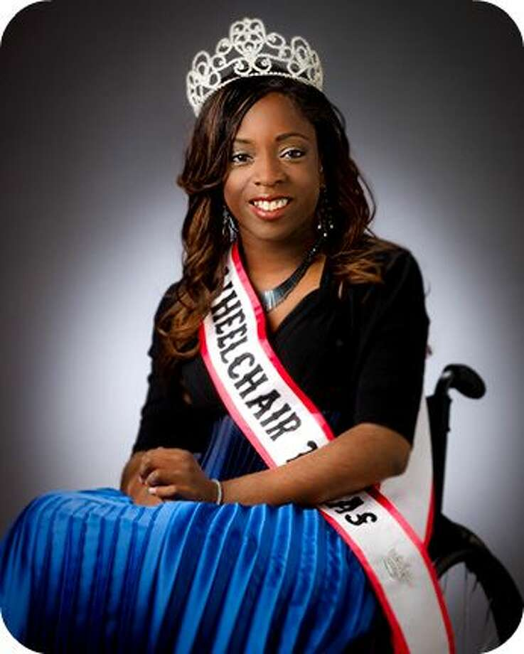 Kemi Yemi-Ese is Ms. Wheelchair Texas 2010. On April 9, she will hand over her crown to the new Ms. Wheelchair Texas. Photo provided by mswheelchairtexas.org