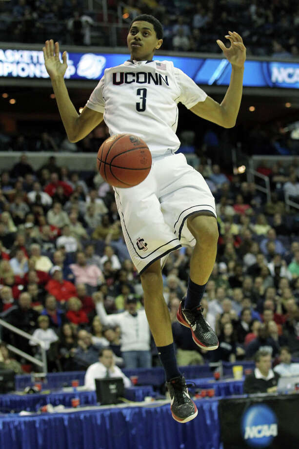 UConn guard Jeremy Lamb's father, Rolando, hit a game-winner for VCU vs. Jim Calhoun's '84 Northeastern squad. Photo: Nick Laham/Getty Images / 2011 Getty Images