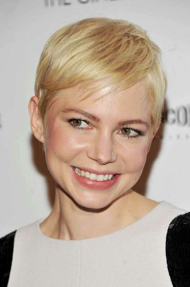 "Actress Michelle Williams attends The Cinema Society & Nancy Gonzalez screening of ""Meek's Cutoff"" at Landmark Sunshine Cinema on in New York City.  (Photo by Stephen Lovekin/Getty Images) Photo: Stephen Lovekin, Getty Images / 2011 Getty Images"