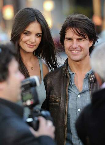 Actors Tom Cruise and Katie Holmes Photo: Jason Merritt, Getty Images / 2011 Getty Images