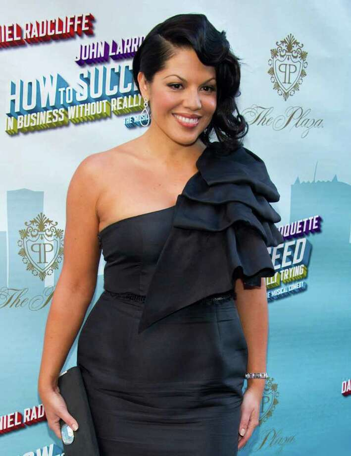 "FILE - In this March 27, 2011 file photo, actress Sara Ramirez arrives for the opening night performance of the Broadway musical ""How to Succeed in Business Without Really Trying"" in New York. (AP Photo/Charles Sykes, file) Photo: Charles Sykes, FRE / FR170266 AP"