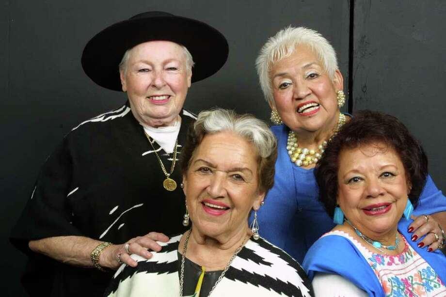 Las Tesoros are (clockwise, from top left) Janet Cortez, Rita Vidaurri, Blanca Rosa and Beatriz Llamas.