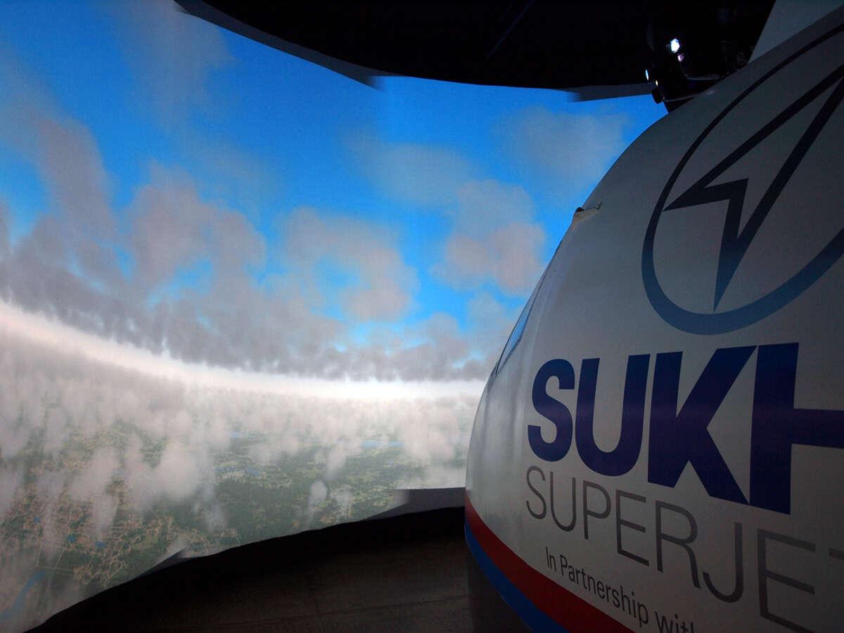 The Sukhoi SuperJet 100 Full Training Device Type V.