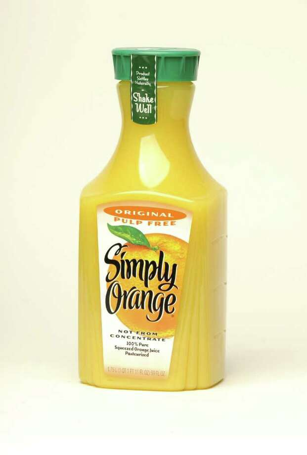Simply Orange, Original Pulp Free orange juice, Score: 94. (Will Waldron / Times Union) Photo: Will Waldron