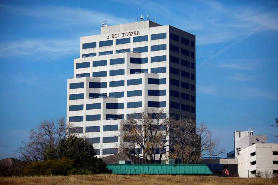 The current corporate headquarters of KCI at KCI Tower, 8023 Vantage Drive. Photo: Express-News File Photo