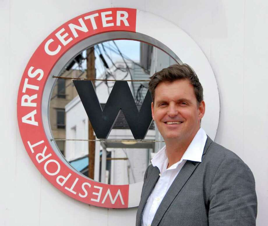 Peter A.H. Van Heerden, a South African arts administrator and educator, is the new executive director of Westport Arts Center. Photo: Contributed Photo / Westport News
